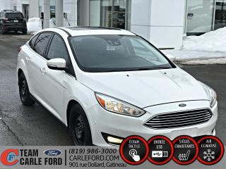 Used 2016 Ford Focus Ford Focus Titanium 2016, CUIR, TOIT, GP for sale in Gatineau, QC