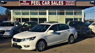Used 2013 Honda Accord EX-L|BLINDSPOTCAM|LEATHER|SUNROOF| for sale in Mississauga, ON