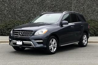 Used 2015 Mercedes-Benz ML-Class ML400 4MATIC for sale in Vancouver, BC