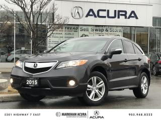 Used 2015 Acura RDX Tech at AWD, Navi, Backup Camera for sale in Markham, ON
