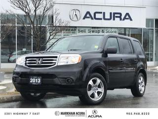 Used 2013 Honda Pilot LX 4WD for sale in Markham, ON