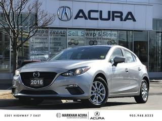 Used 2016 Mazda MAZDA3 Sport GS at Moonroof, Navi, Backup Cam for sale in Markham, ON