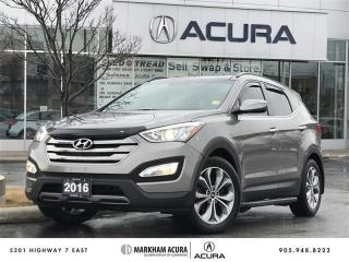 Used 2016 Hyundai Santa Fe Sport AWD 2.0T Limited Navi, Heated Steering Wheel, Pano Roof for sale in Markham, ON