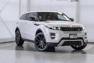 Used 2013 Land Rover Evoque Dynamic for sale in Langley, BC