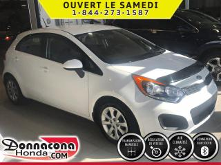 Used 2015 Kia Rio LX ***2 KIT DE ROUES***MAGS***SUPER BAS for sale in Donnacona, QC
