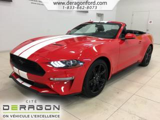 Used 2018 Ford Mustang Convertible Premium for sale in Cowansville, QC