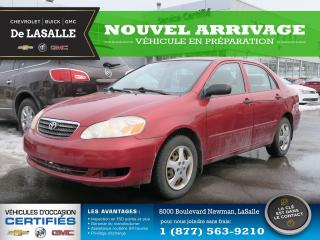 Used 2008 Toyota Corolla LE for sale in Lasalle, QC