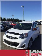 Used 2015 Nissan Micra 1.6 SV  ***17 900 KM + GARANTIE PROLONGÉ for sale in Beauport, QC