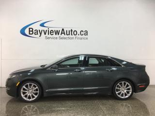 Used 2015 Lincoln MKZ - SUNROOF! HTD LTHR! FORD LEASE DIRECT! for sale in Belleville, ON