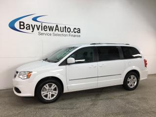 Used 2017 Dodge Grand Caravan Crew - QUADS! DUAL A/C & MORE! for sale in Belleville, ON