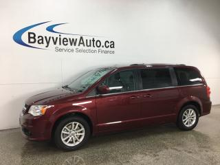 Used 2018 Dodge Grand Caravan CVP/SXT - DVD! NAV! LTHR TRIM! ALLOYS! for sale in Belleville, ON