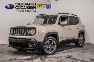 Used 2015 Jeep Renegade North for sale in Boisbriand, QC