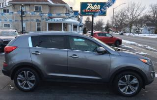 Used 2014 Kia Sportage Sx Luxury Awd for sale in Dunnville, ON