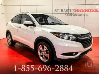 Used 2016 Honda HR-V EX-L + NAV + CUIR + TOIT + IMPECCABLE !! for sale in St-Basile-le-Grand, QC