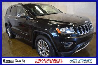 Used 2014 Jeep Grand Cherokee Ltd +toit, Hitch for sale in Granby, QC