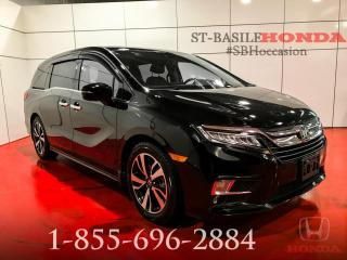 Used 2018 Honda Odyssey TOURING + NAV + CUIR + PAS CHER !!! for sale in St-Basile-le-Grand, QC
