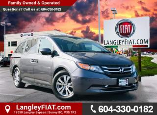 Used 2015 Honda Odyssey EX-L 3rd Row Seating, Sunroof and Parking Sensors! B.C. Owned! for sale in Surrey, BC