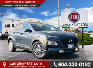 Used 2018 Hyundai KONA 2.0L Luxury AWD Crossover with Active Cornering, Cross Traffic Alert and Front Collision Sensors for sale in Surrey, BC