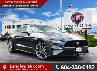 Used 2019 Ford Mustang GT Premium 5.0L GT PREMIUM, Blind Spot Monitoring and Lane Departure! B.C. Owned! for sale in Surrey, BC
