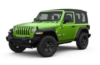 New 2019 Jeep Wrangler Sport Spring Special Order for sale in Ottawa, ON