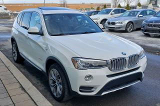 Used 2015 BMW X3 Xdrive28i Sold Sold for sale in Dorval, QC