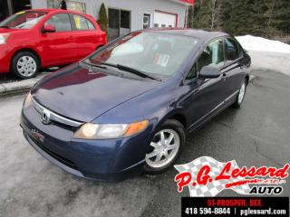 Used 2007 Honda Civic Dx-G A/c Vi for sale in St-Prosper, QC