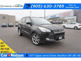 Used 2014 Ford Escape SE | LEATHER | PANO SUNROOF | NAV | REAR CAM for sale in Hamilton, ON
