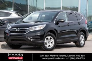Used 2016 Honda CR-V LX for sale in Lachine, QC