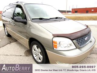 Used 2005 Ford Freestar SEL - 4.2L - 7 Passenger for sale in Woodbridge, ON