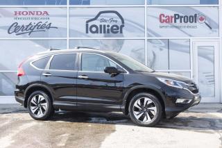 Used 2016 Honda CR-V AWD TOURING ***GARANTIE 10 ANS/200 000 K for sale in Québec, QC