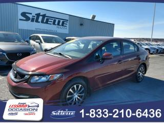 Used 2013 Honda Civic JAMAIS ACCIDENTE AIR CLIMATISE, SIEGES C for sale in St-Georges, QC