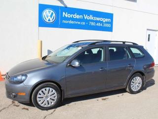 Used 2014 Volkswagen Golf Wagon 2.0 TURBO DIESEL TRENDLINE 6SPD M/T - HEATED SEATS / VW CERTIFIED for sale in Edmonton, AB