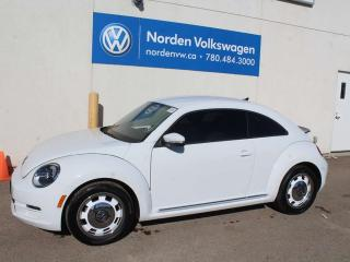 Used 2016 Volkswagen Beetle Coupe 1.8 TSI CLASSIC 5SPD MANUAL - VW CERTIFIED for sale in Edmonton, AB