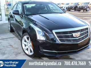 Used 2015 Cadillac ATS Sedan 2.OT/AWD/LEATHER/SUNROOF/NAV for sale in Edmonton, AB