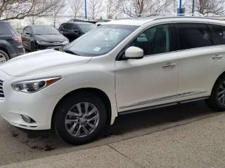 Used 2013 Infiniti JX35 JX35; LOADED, 7PASS, NAV, BACKUP CAM, HEATED SEATS, SUNROOF AND MORE for sale in Edmonton, AB