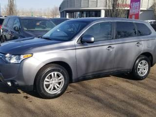 Used 2014 Mitsubishi Outlander ES; 4WD, BLUETOOTH, HEATED SEATS AND MORE for sale in Edmonton, AB