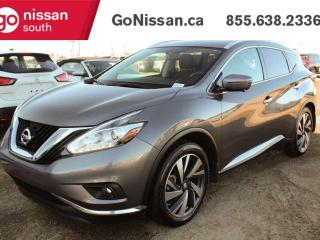 Used 2017 Nissan Murano Platinum 4dr AWD Sport Utility for sale in Edmonton, AB