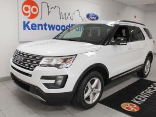 Used 2016 Ford Explorer XLT 4WD, heated power leather seats, rear climate control, push start/stop, backup cam for sale in Edmonton, AB