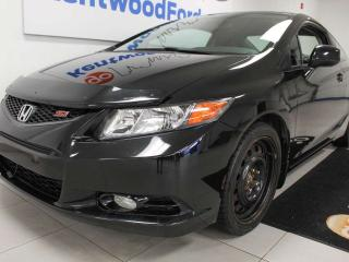 Used 2012 Honda Civic Cpe Si FWD 6-SPD manual with NAV and a sunroof for sale in Edmonton, AB
