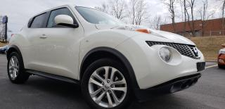 Used 2014 Nissan Juke CERTIFIED,2 Yrs Warranty,One Owner,Leather,Navi,SL for sale in Mississauga, ON