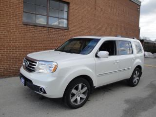 Used 2013 Honda Pilot Touring 8 PASSENGER NAVIGATION TRAILER TOW for sale in Oakville, ON