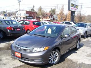 Used 2012 Honda Civic EX,AUTO,A/C,SUNROOF,BLUETOOTH,ALLOYS,CERTIFIED for sale in Kitchener, ON
