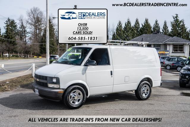 2005 Chevrolet Astro Cargo Van, Laddar Racks, Shelving, Bulkhead, Clean