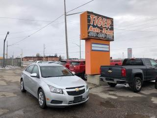 Used 2013 Chevrolet Cruze LT**AUTO**GREAT CONDITION**ONLY 125KMS**CERTIFIED for sale in London, ON