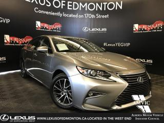 Used 2017 Lexus ES 350 Touring Package for sale in Edmonton, AB