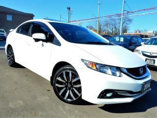 Used 2014 Honda Civic TOURING.NAVI.REVERSE.BLIND SPOT CAM | LEATHER.ROOF for sale in Kitchener, ON