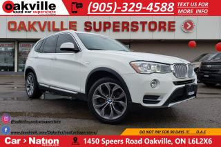 Used 2016 BMW X3 xDrive28i | PANO | NAV | BROWN LEATHER | LOADED for sale in Oakville, ON