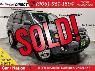 Used 2010 Ford Escape XLT| 4X4| SUNROOF| OPEN SUNDAYS| for sale in Burlington, ON