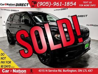 Used 2018 Dodge Durango GT Blacktop| AWD| SUNROOF| NAVI| DUAL DVD| for sale in Burlington, ON