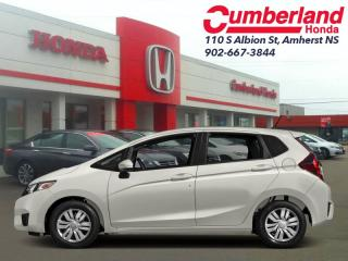 Used 2017 Honda Fit LX  - Bluetooth -  Heated Seats for sale in Amherst, NS
